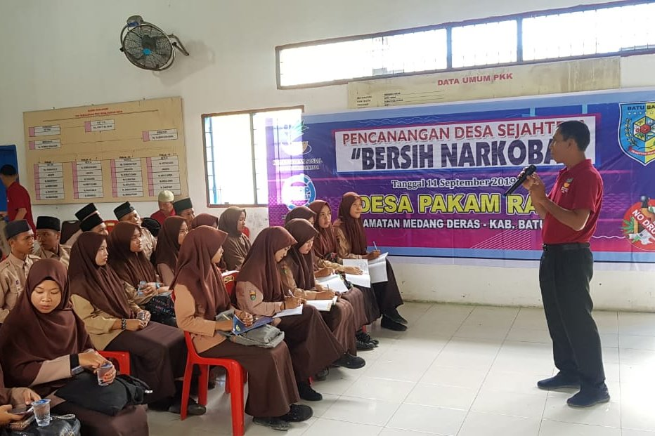 "BRSKPN ""Insyaf"" Conducts Information on the Prevention and Dangers of Drug Abuse"