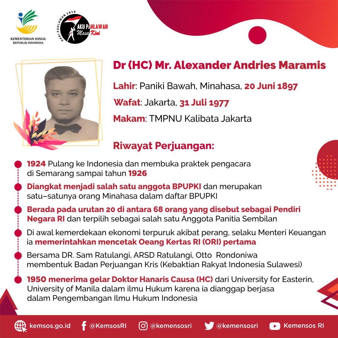 (5) Alexander Andries Maramis (Large)