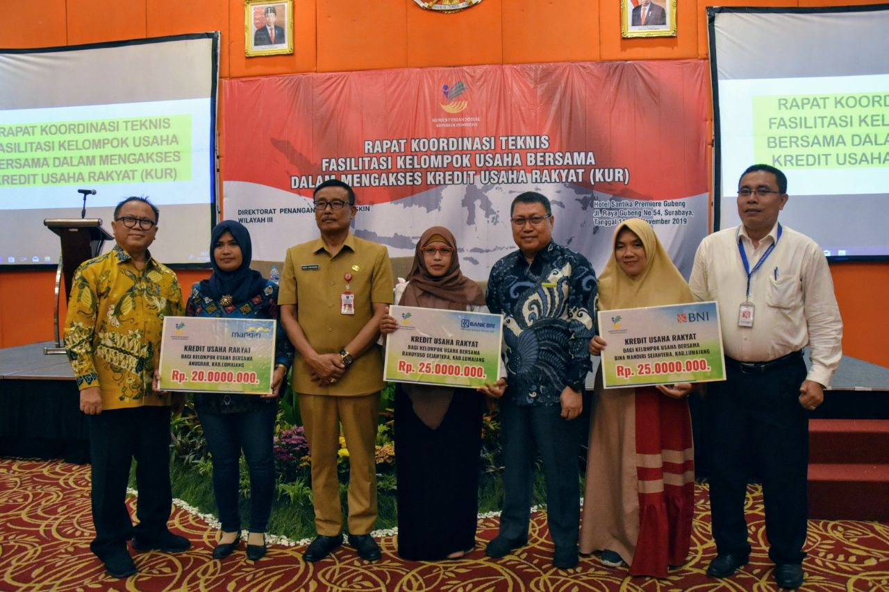KUBE Empowerment through KUR and UMi as an Effort for KPM Graduation