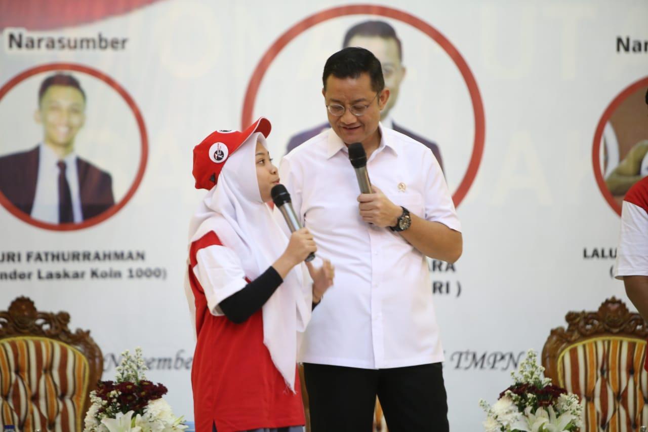 """Mensos Hadiahkan Sepeda di Pahlawan """"Goes To School"""""""