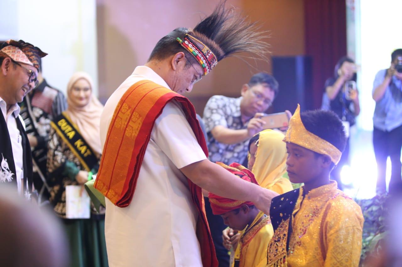 Festival Generasi Emas Komunitas Adat Terpencil 2019 di TMII