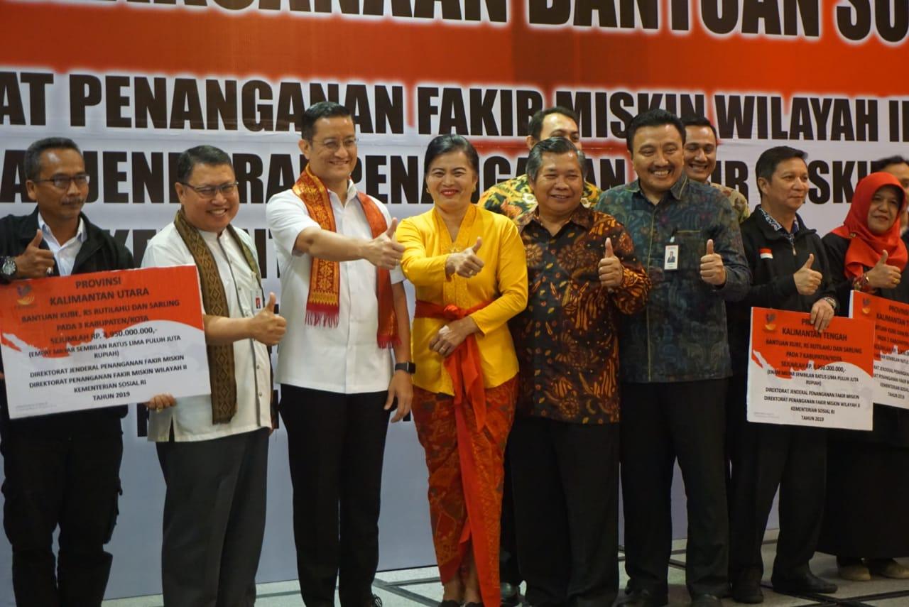 Direktorat PFM Wilayah II Lakukan Evaluasi Pelaksanaan Bansos 2019