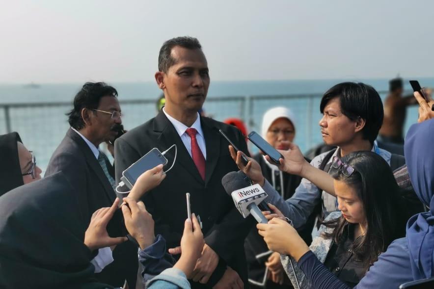 Sekretaris Ditjen Pemberdayaan Sosial Hadiri Tabur Bunga di Laut