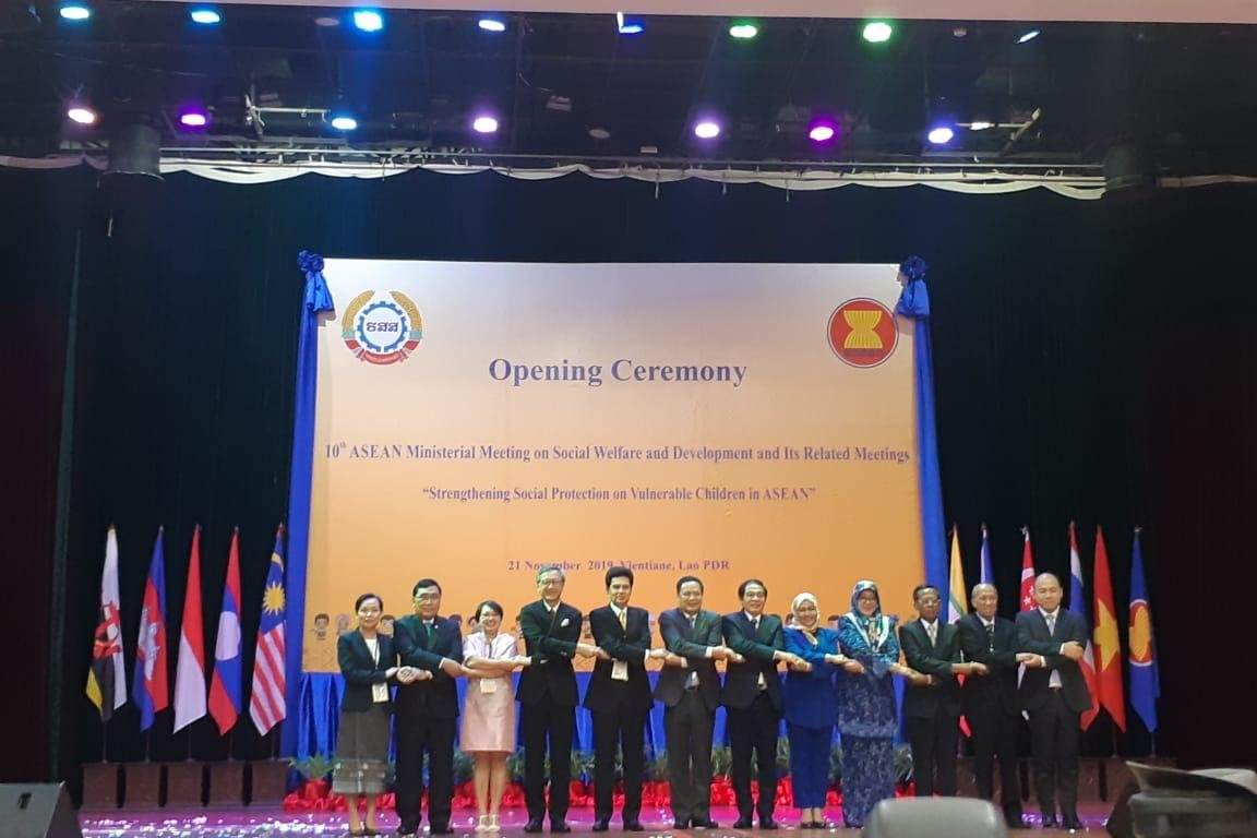 ASEAN Strengthens Cooperation in Child Social Protection