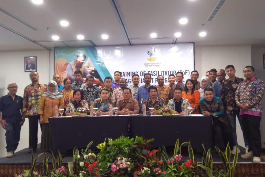 Tingkatkan Kapasitas Penyuluh Sosial, Puspensos Gelar Pelatihan Fasilitator