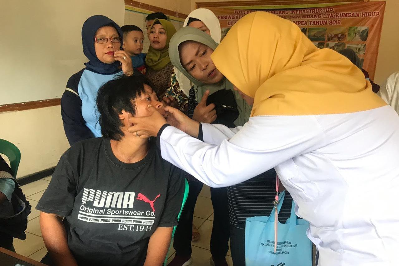 Program RSK Bagi Penyandang Disabilitas di Kecamatan Ciampea