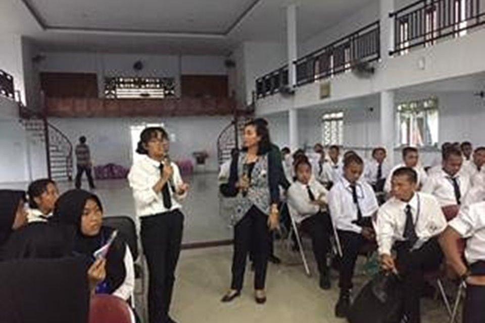"""BRSODH """"Bahagia"""" Edukasi HIV Ratusan Mahasiswa Baru"""