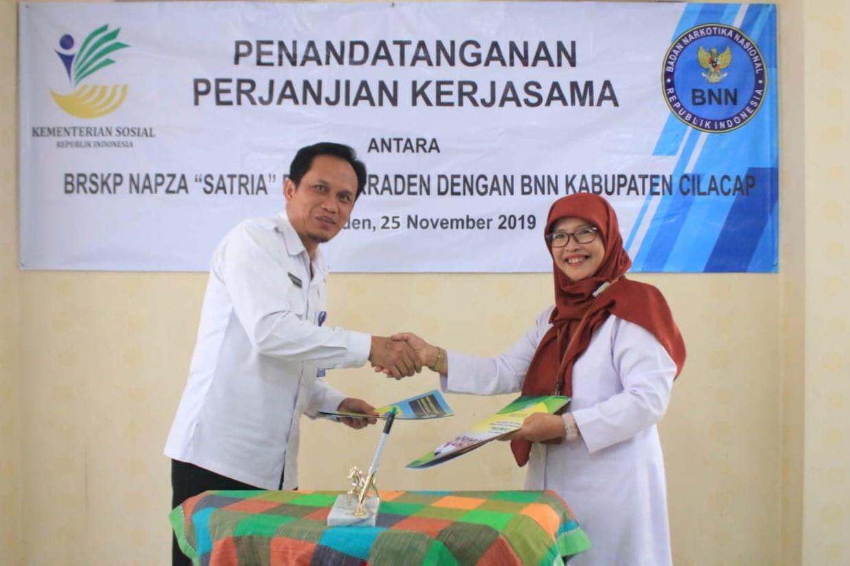 "BRSKPN ""Satria"" Jalin Kerjasama dengan BNN Cilacap"