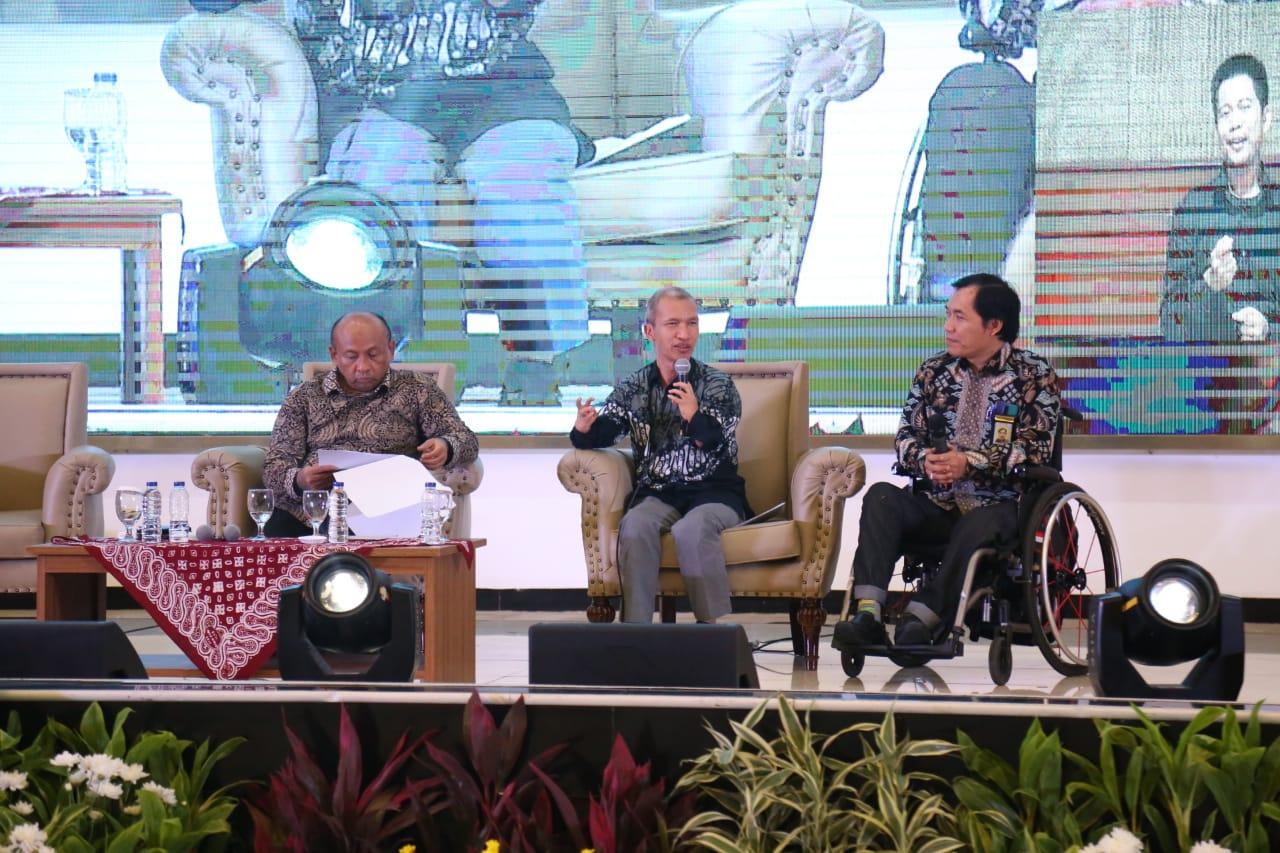 """Kemensos Pererat Komunikasi Antar """"Stakeholders"""" dalam Pemenuhan Hak Penyandang Disabilitas"""
