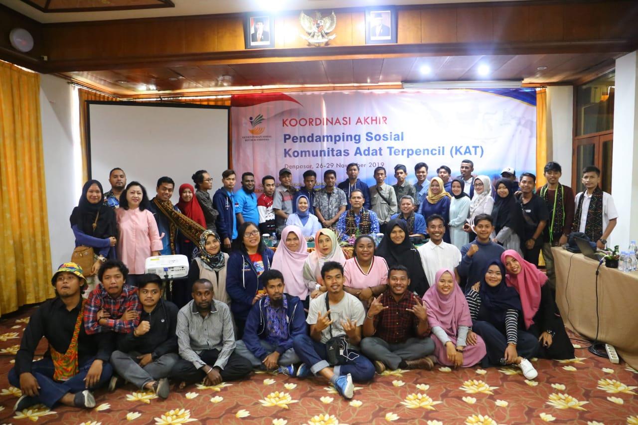 Apresiasi bagi Pendamping sosial KAT Tahun 2019