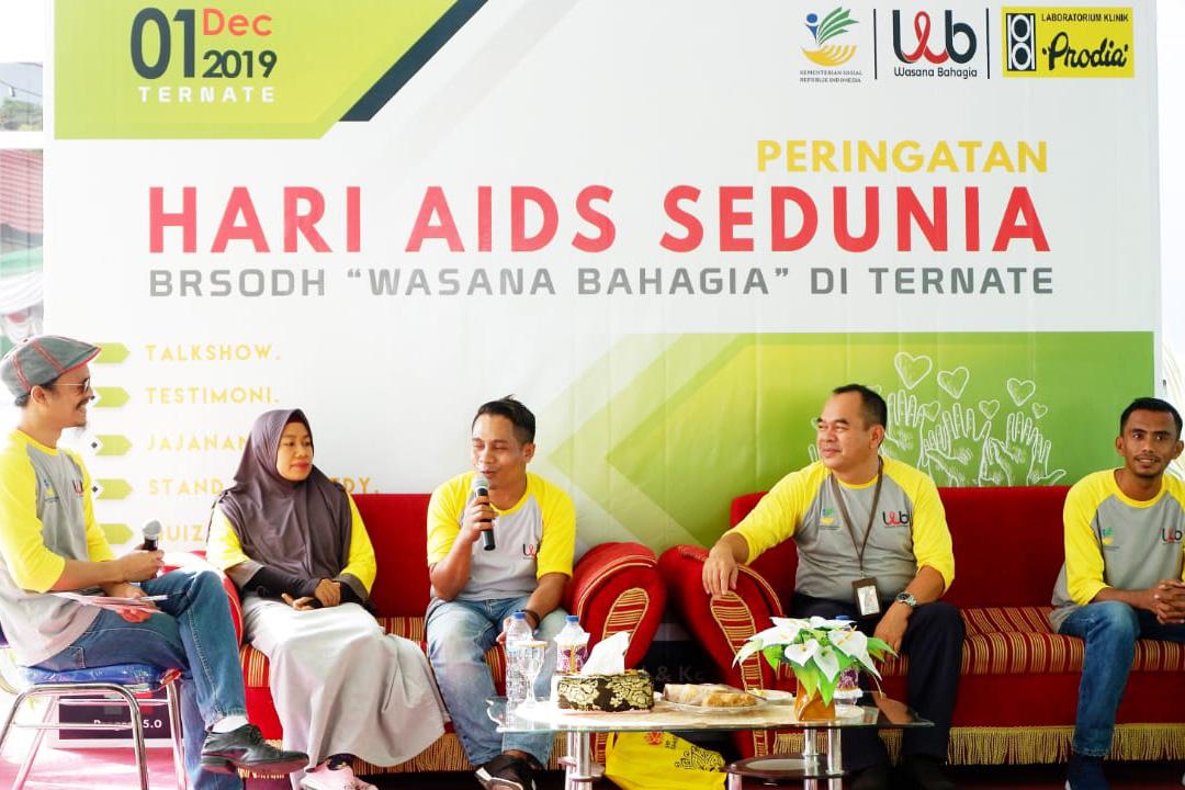 "BRSODHIV ""Wasana Bahagia"" Ternate Peringati Hari Aids Sedunia (HAS)"