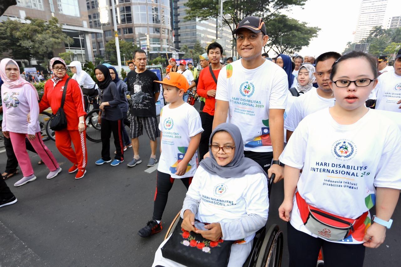 Mensos Serukan Pemenuhan Hak Bagi Penyandang Disabilitas