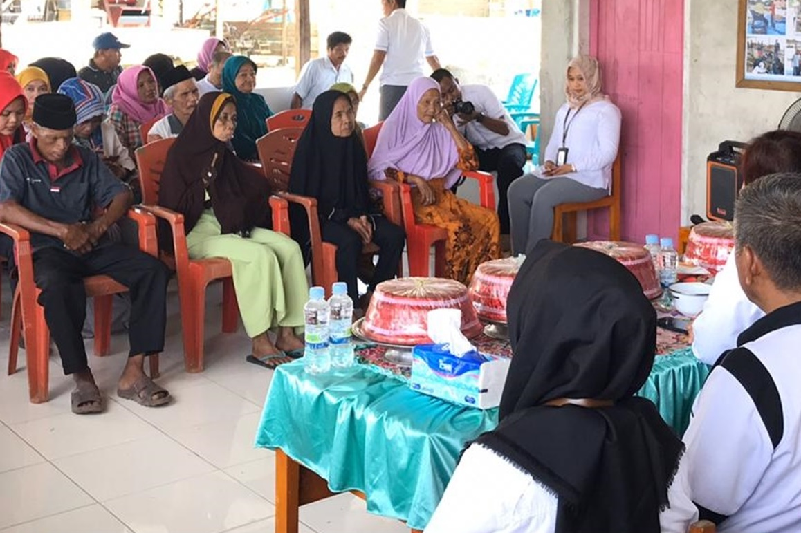 "Kemensos Melalui BRSLU ""Gau Mabaji"" Salurkan Bantuan Perawatan Sosial"