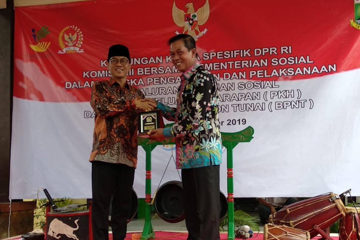 Kunker Spesifik Komisi VIII DPR RI Bersama Kemensos di Kota Serang