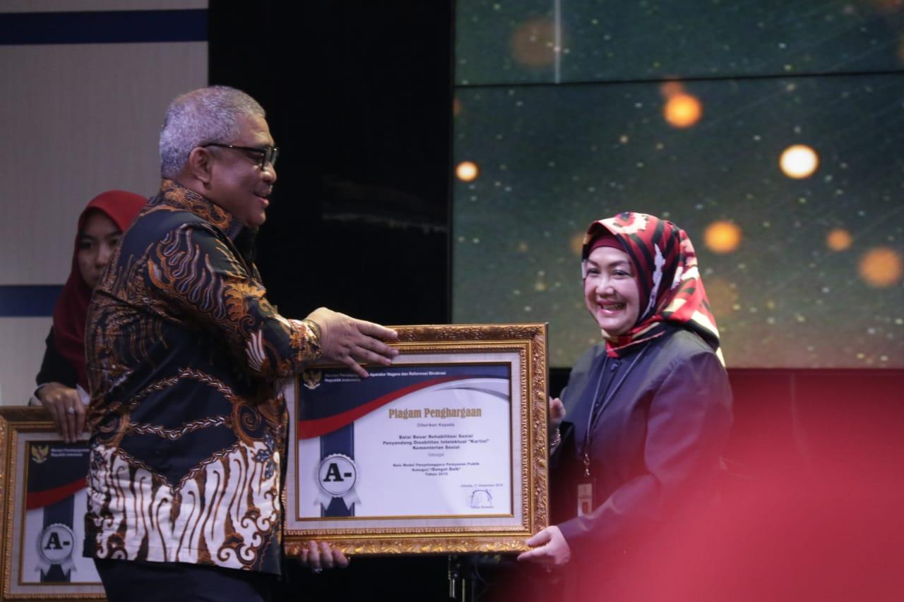 """BBRSPDI """"Kartini"""" Raih Predikat Sangat Baik pada Evaluasi Pelayanan Publik"""