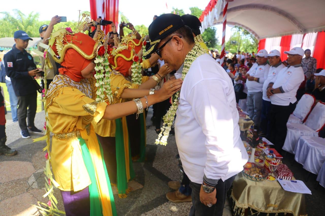 Lintas Batas Kesetiakawanan Sosial (LBKS) di Kabupaten Balangan, Provinsi Kalimantan Selatan