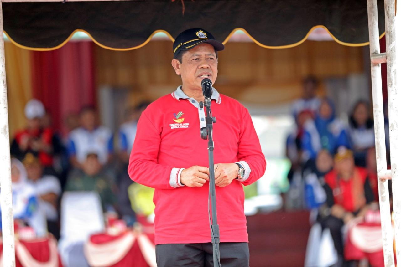Tim LBKS Kemensos Tiba di Etape IV Kabupaten Tapin