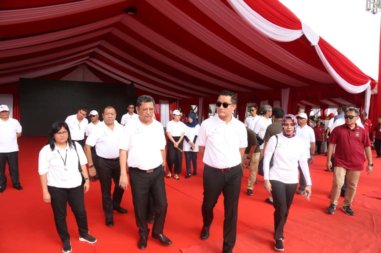 Mensos Tinjau Lokasi KSN Expo 2019