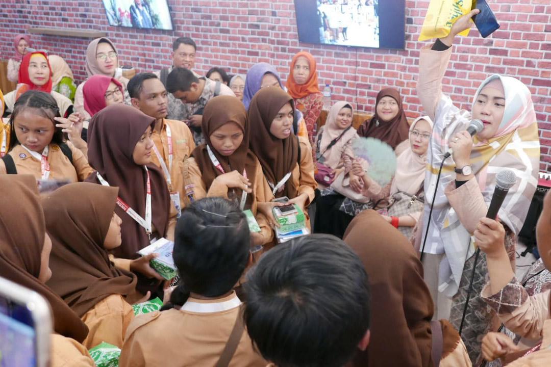 Stan Pameran BP3S Berbagi Kegembiraan di KSN Expo 2019