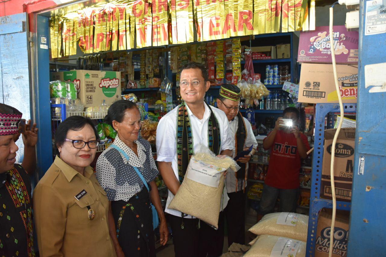 Mensos Harapkan Angka Kemiskinan di Kabupaten Manggarai Barat Turun