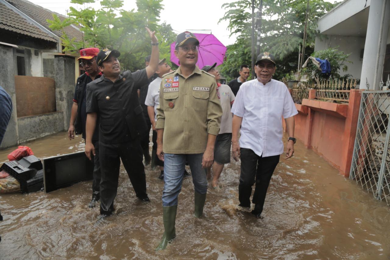 Kemensos Pastikan Kebutuhan Pengungsi Banjir Terpenuhi