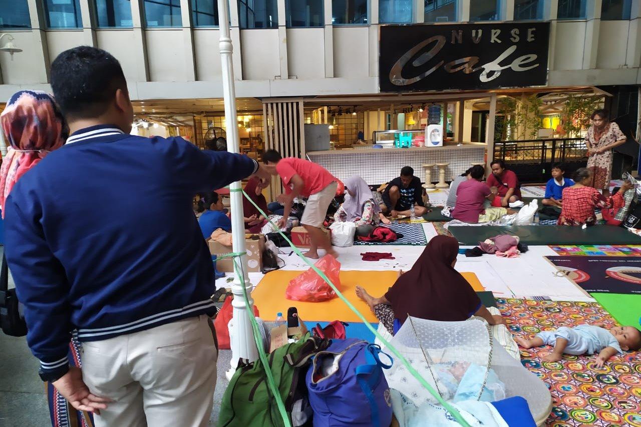 TRC Kemensos Bidang Rehsos Laksanakan Baksos Korban Banjir di Jakarta