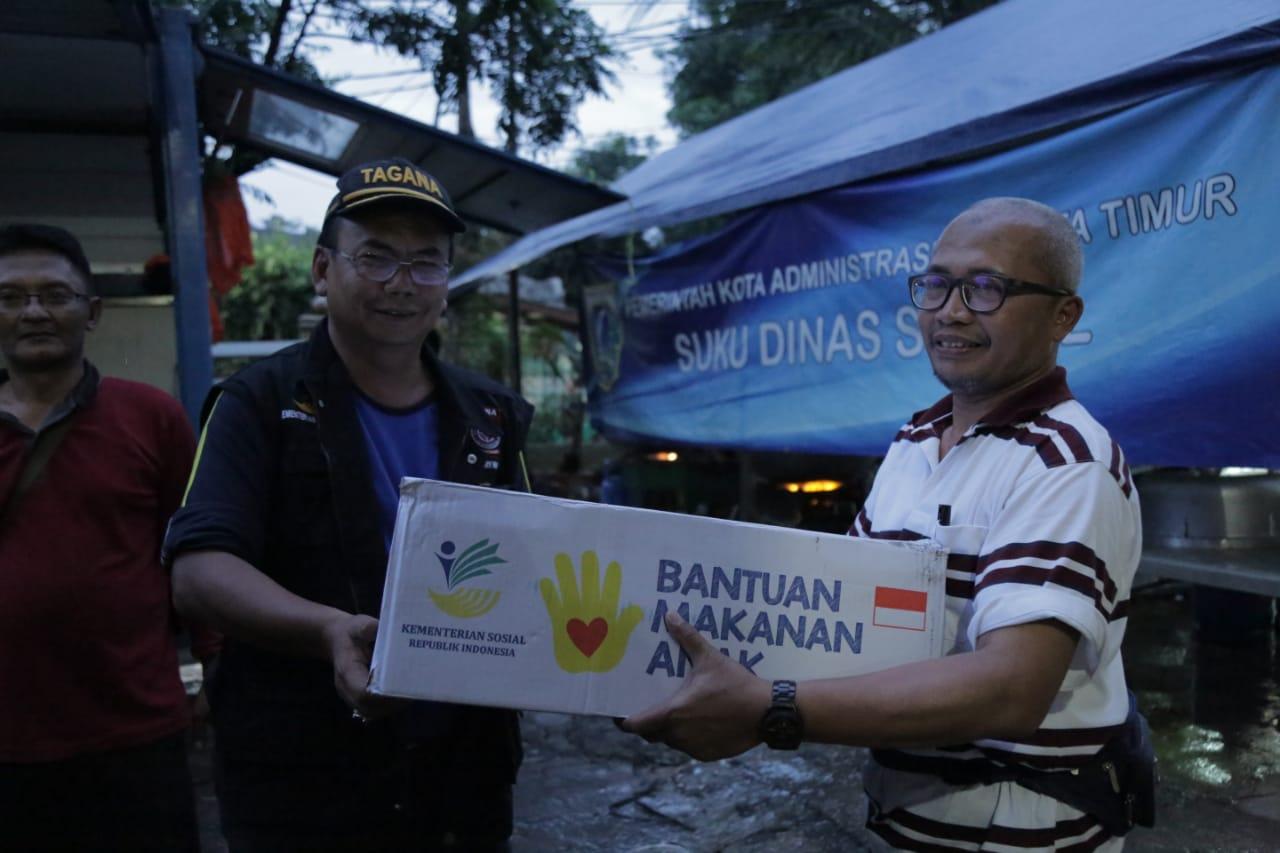 Kemensos Salurkan Bantuan Kebutuhan Warga Terdampak Banjir