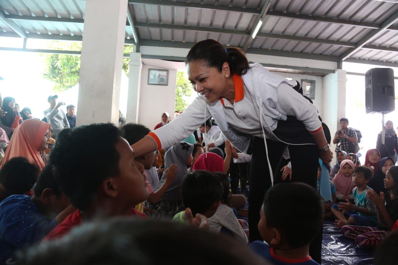 Grace P. Batubara Kunjungi Lokasi Terdampak Banjir Kabupaten Bogor