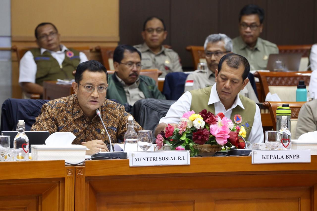 Rapat Kerja Gabungan Kementerian Sosial dan BNPB dengan Komisi VIII DPR RI