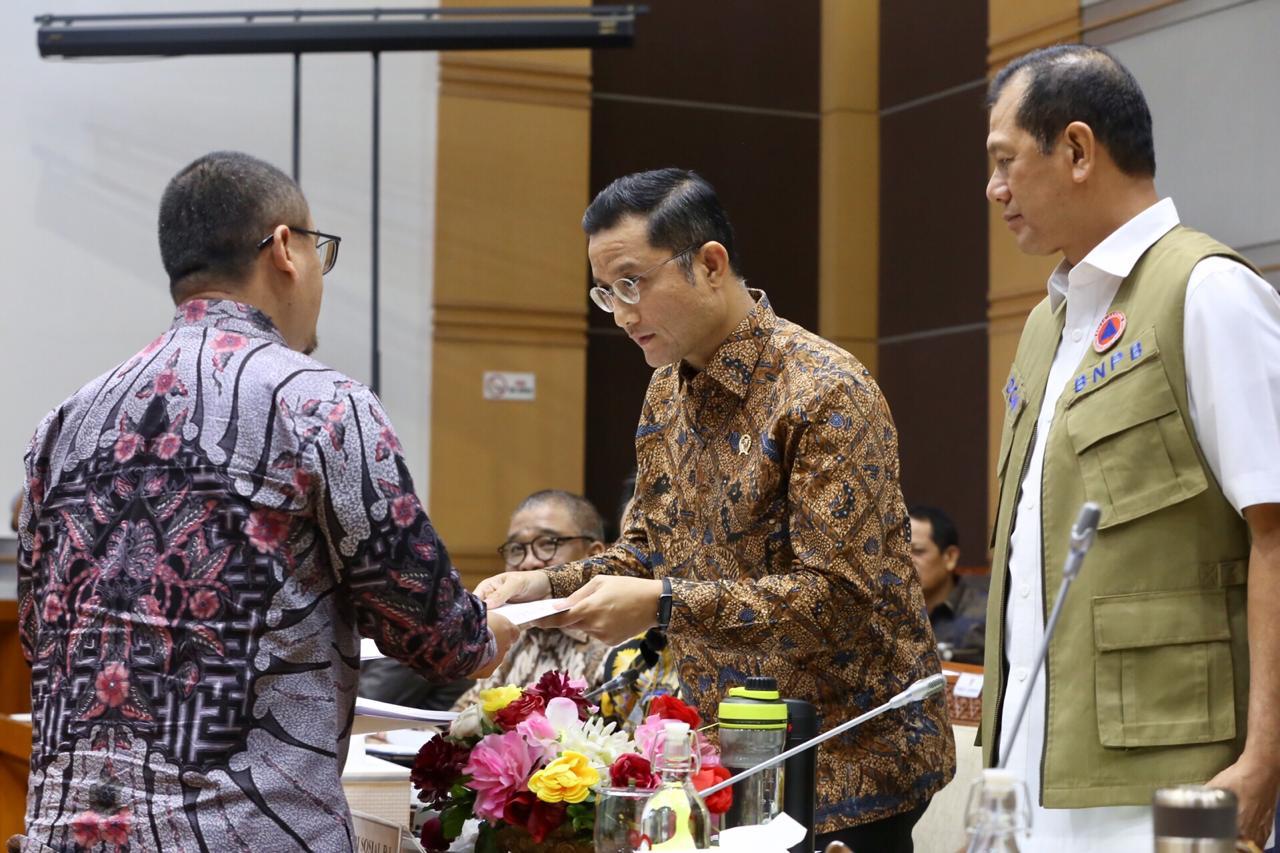 Komisi VIII DPR RI Apresiasi Langkah Cepat Kemensos Tangani Bencana
