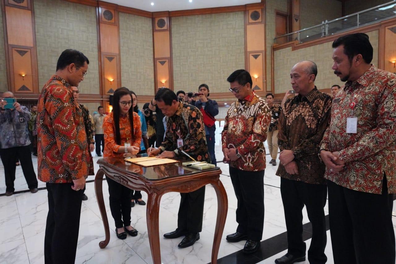 Kembangkan SDM, Kepala BP3S Teken MoU dengan Gubernur Kaltara
