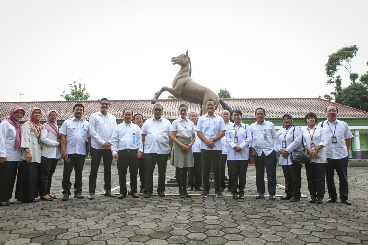 Silaturahmi Mensos ke BBPPPKS Yogyakarta