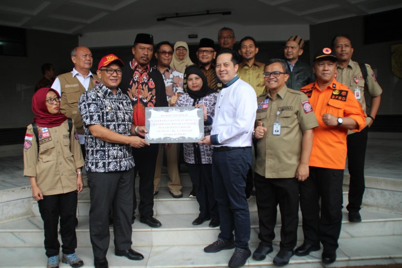 Komisi VIII DPR RI Apresiasi Pemerintah Cepat Tangani Bencana Kabupaten Bogor
