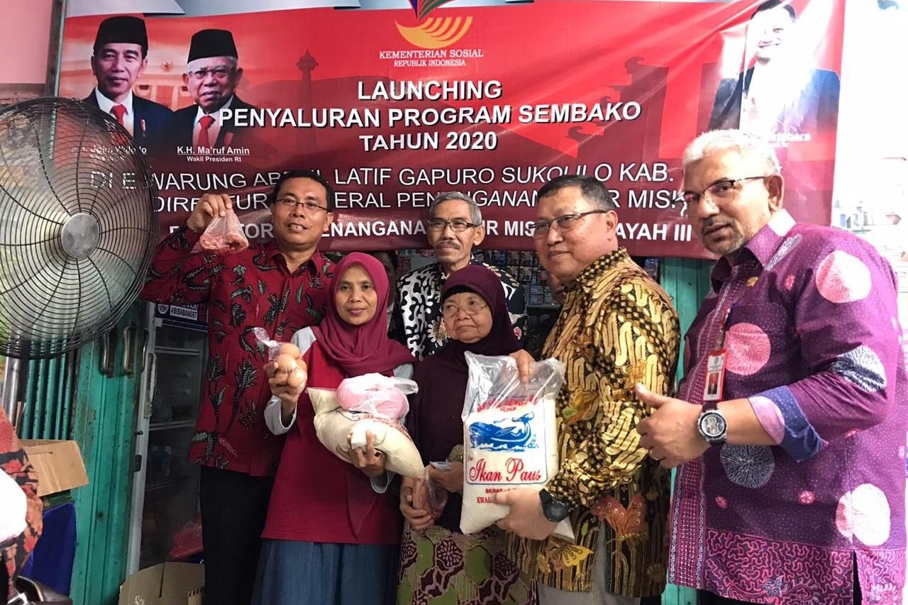 Dirjen PFM Kunjungi Tiga e-Warong di Kabupaten Gresik