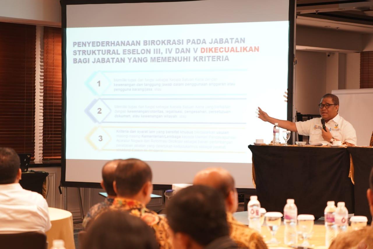 Kegiatan Penyederhanaan Organisasi di Lingkungan BP3S