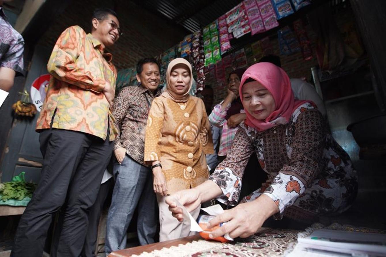 Kemensos dan Kemenko PMK Pantau Program Sembako di Kota Medan