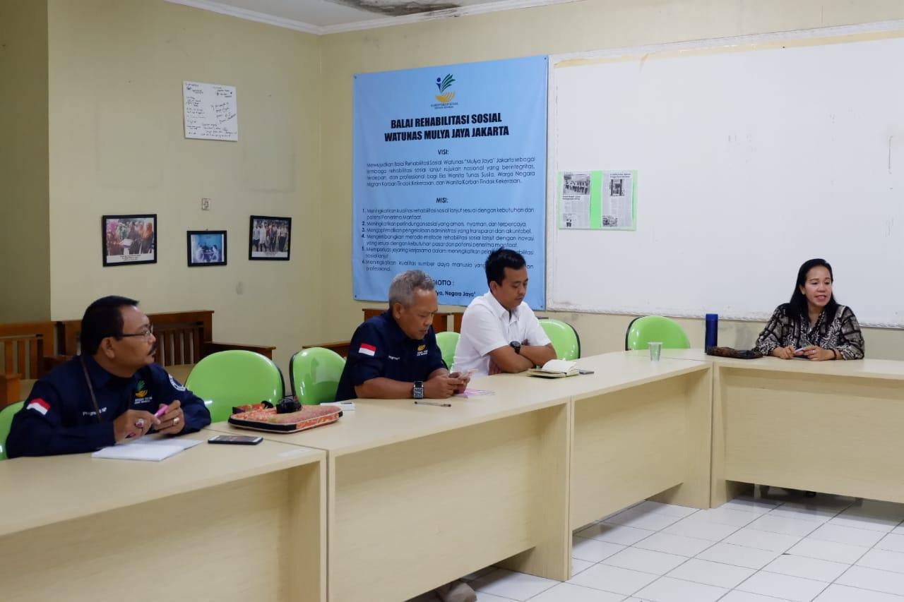 Universitas Muhammadiyah Jakarta Senggalarakan Social Visit