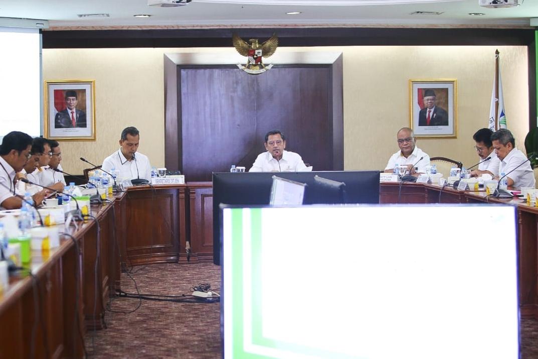 Rapat Pimpinan Direktorat Jenderal Pemberdayaan Sosial Fokuskan pada Percepatan Realisasi Anggaran