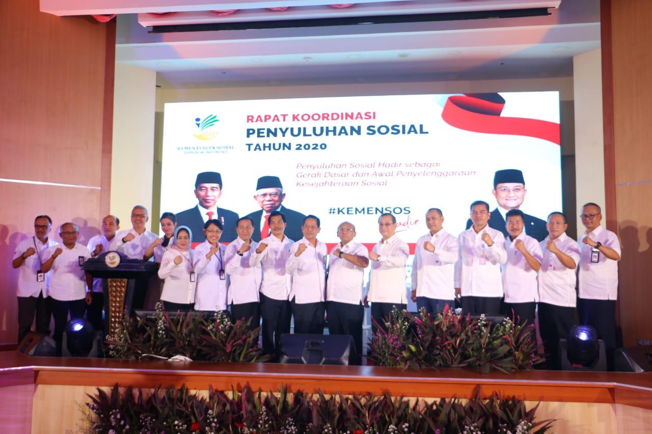 Rapat Koordinasi Penyuluhan Sosial Tahun 2020