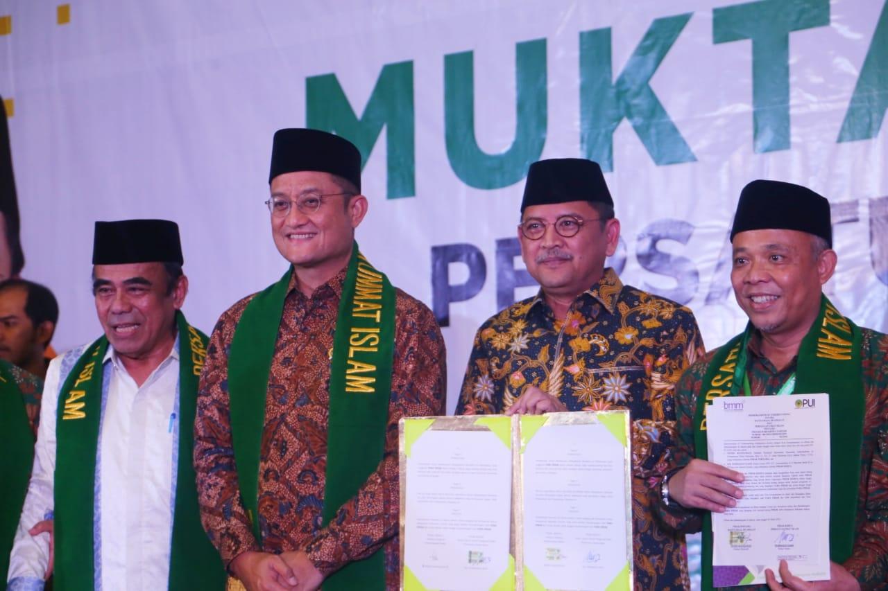 MoU Kemensos dan Persatuan Umat Islam tentang Pemberdayaan Sosial