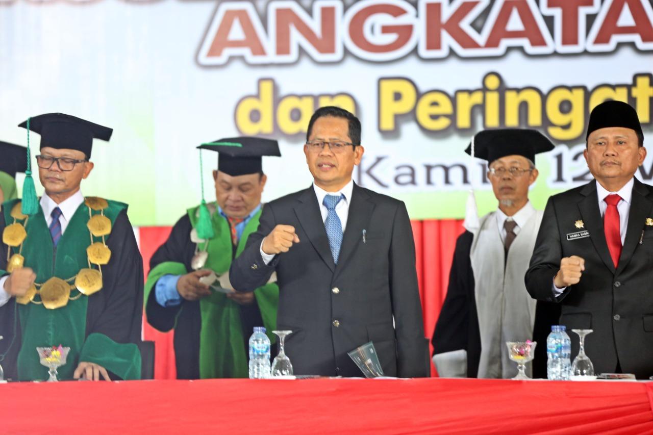 Orasi Ilmiah di IAIN Bengkulu, Kepala BP3S Bicara tentang SDM Unggul