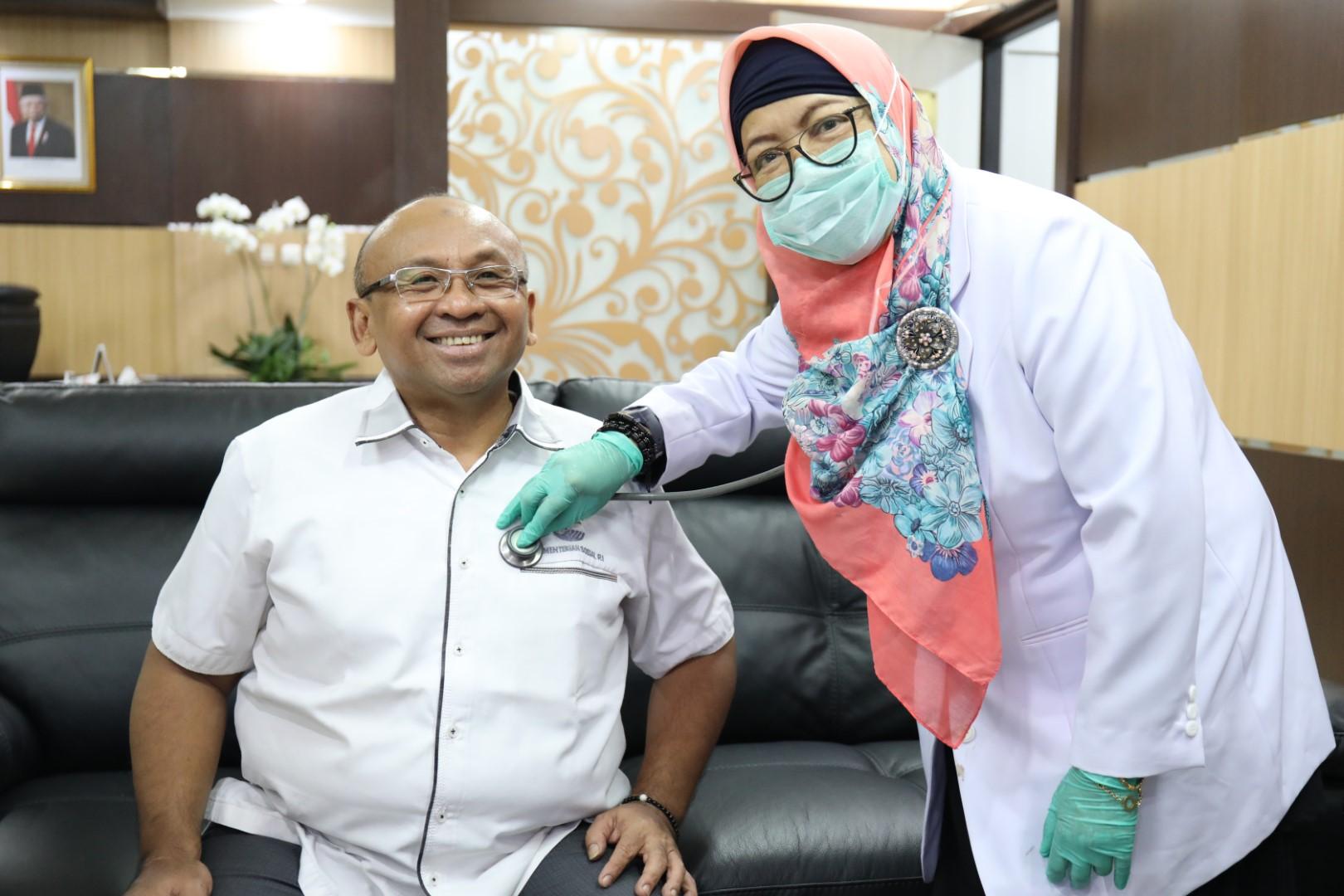 Pelaksanaan Kunjungan Dokter Klinik Utama di Kementerian Sosial