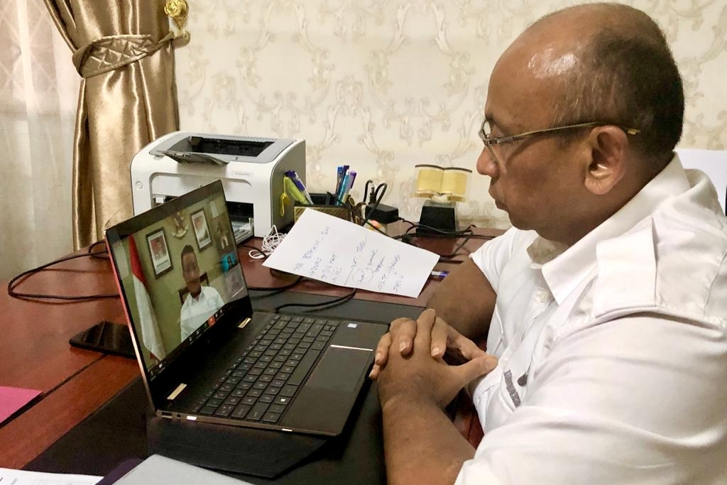 Social Minister Appreciates Social Pillars Work Through Video Conference