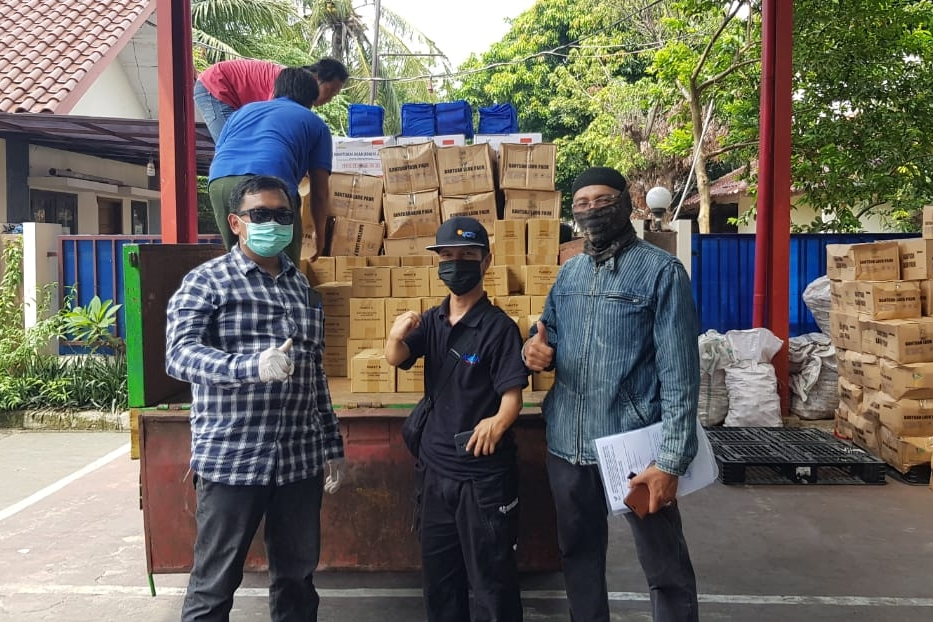 Hadapi Pandemi COVID-19, Kemensos Salurkan Bantuan Logistik ke LKS Penyandang Disabilitas