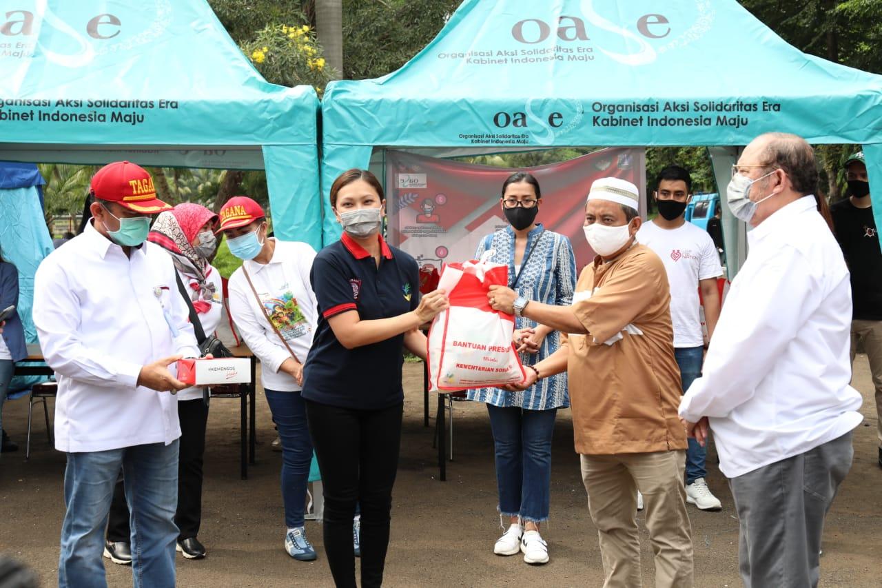 Anak Jalanan Apresiasi Kemensos atas 1.000 Paket Sembako dan Makanan