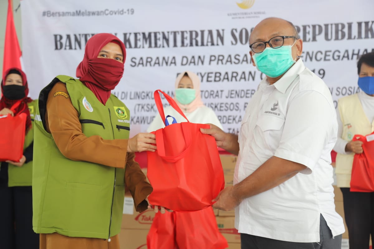 Ministry of Social Affairs Equips Social Pillars with PPE