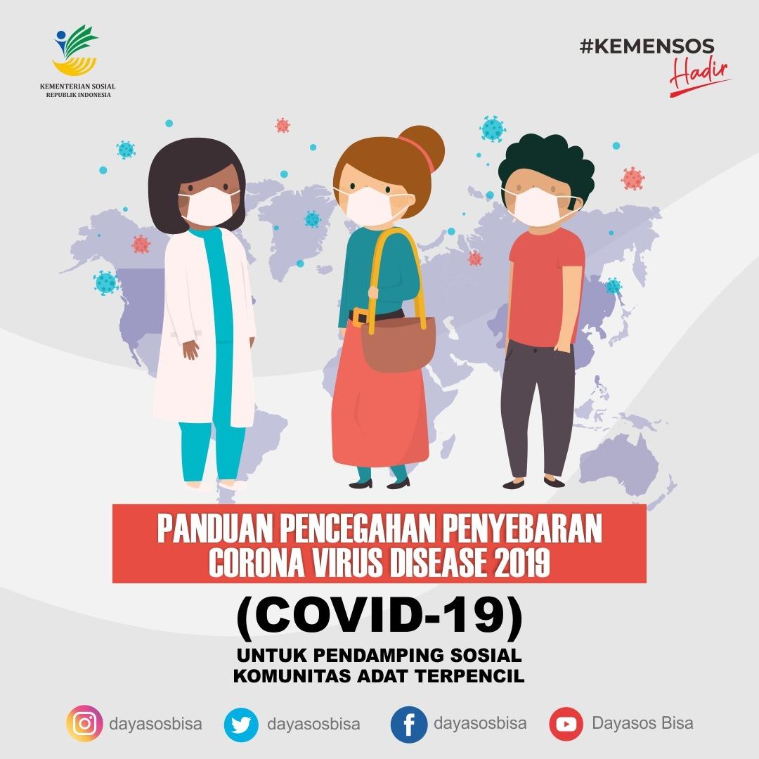 Panduan Pencegahan Penyebaran Covid-19 untuk Pendamping Sosial KAT