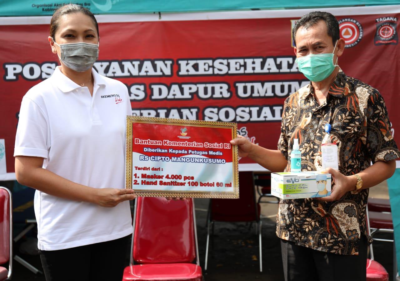 Kemensos Bantu Kelengkapan Kesehatan di Tiga Rumah Sakit di Jakarta