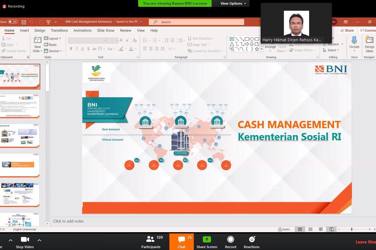 """Implementasi """"Cash Management System"""" Melalui Kartu Combo BNI"""