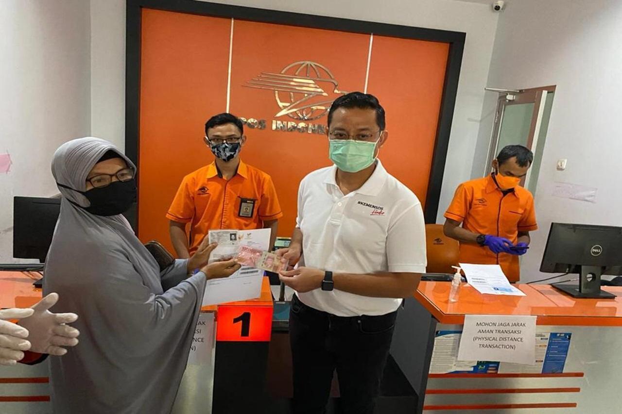 Ministry of Social Affairs Provides Cash Social Assistance for 102,727 KPM in Tangerang Regency